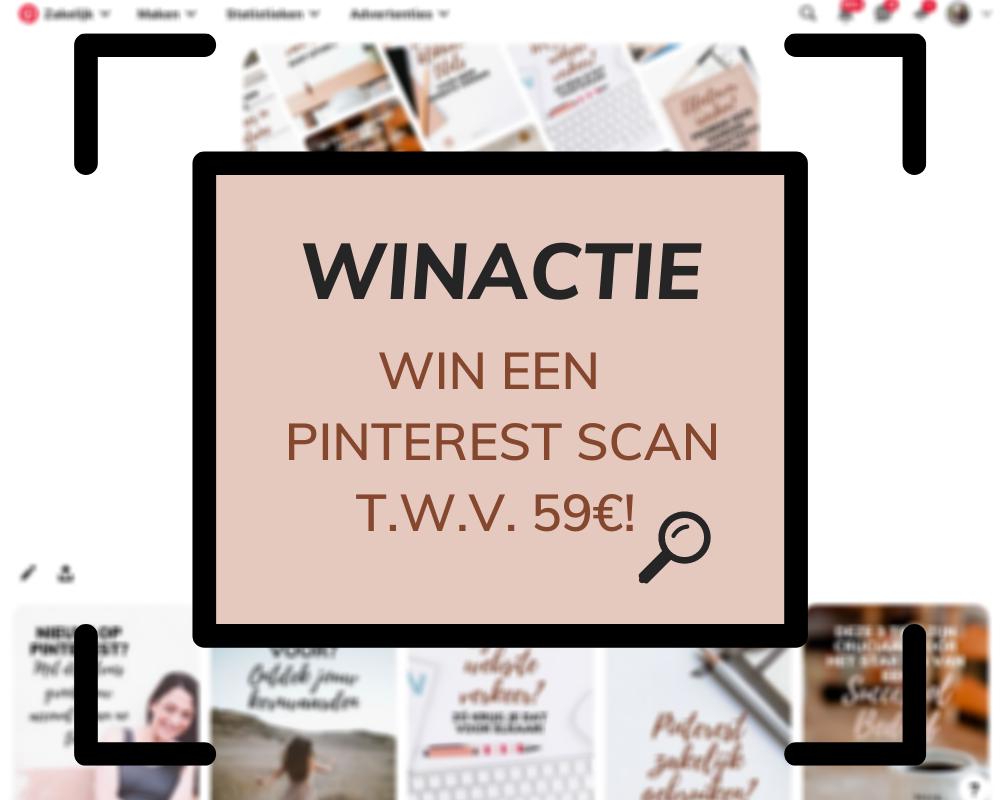 Winactie: Win een pinterest scan